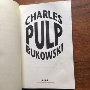 "Vintage Accents - Charles Bukowski ""Pulp"""